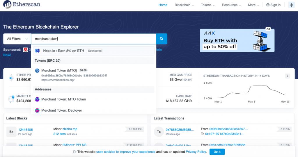 Capture décran 2021 05 16 à 17.52.45 MTO - Comment récupérer vos token MTO après la levée de fonds ?
