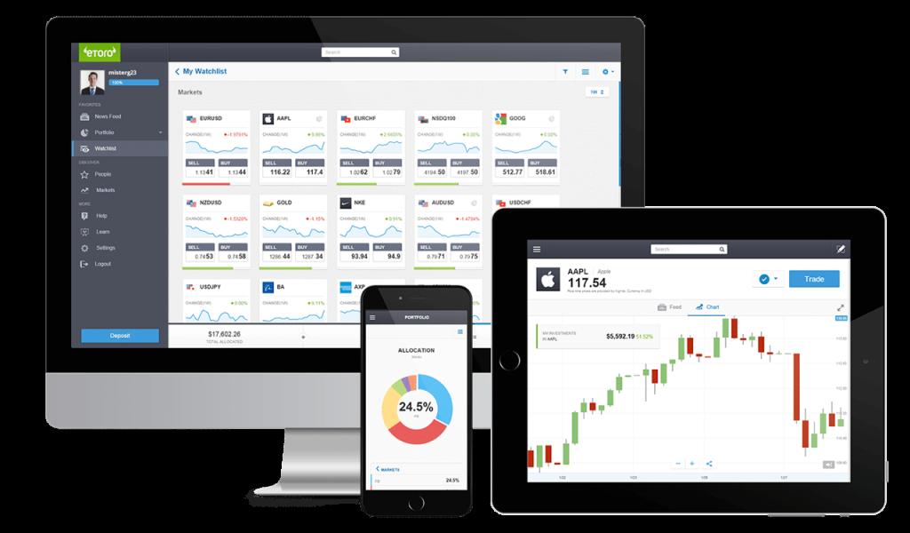 etoro 1 Bourse - Les meilleures plateformes pour investir en bourse