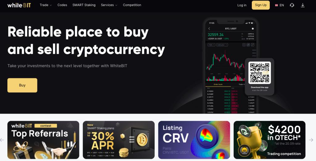 Capture décran 2021 10 09 à 07.28.07 WhiteBIT : Avis sur ce broker crypto-monnaie