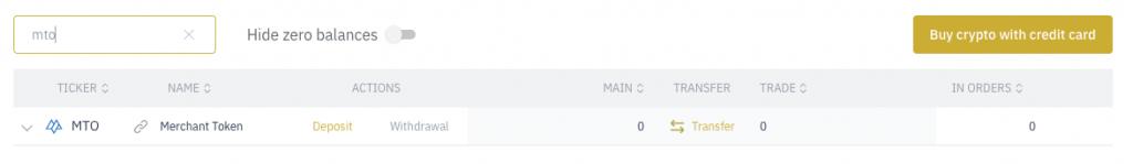 Capture décran 2021 10 09 à 11.50.47 Merchant Token (MTO) : Cotation annoncée