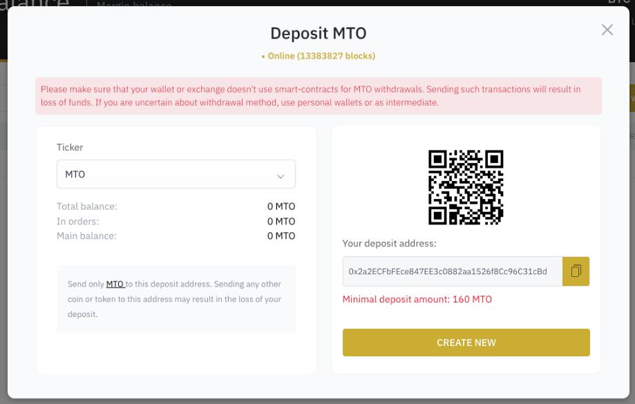 Capture décran 2021 10 09 à 11.53.08 Merchant Token (MTO) : Cotation annoncée