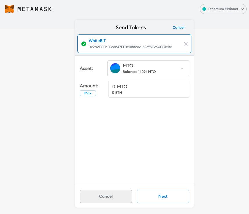 Capture décran 2021 10 09 à 12.01.10 Merchant Token (MTO) : Cotation annoncée